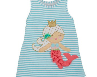 Mermaid Summer  Dress with Monogram Included