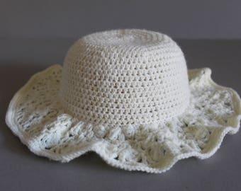 Sun Hat, Baby Sun Hat, Crochet