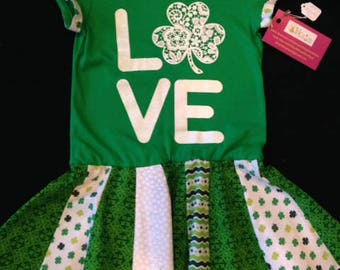 St. Patrick's Day Upcycle Dress