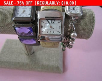 SALE vintage lot of watches for repurpose repair steampunk Altered Art