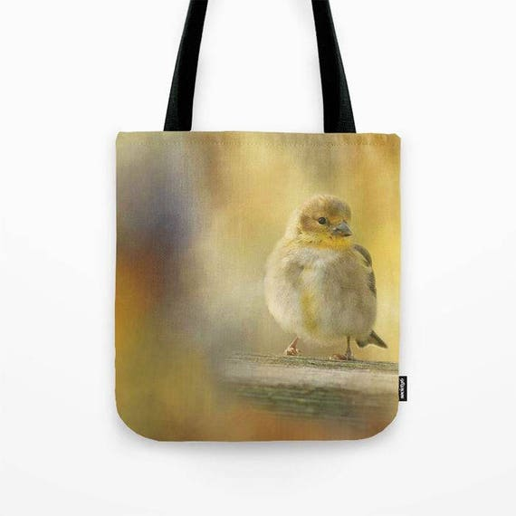 American Goldfinch Photo Tote Bag, Garden Tote, Book Bag, Library Tote, Reusable Tote, Market Tote, Bird Photography, Bird Tote