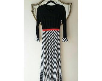 1960's Maxi Dress