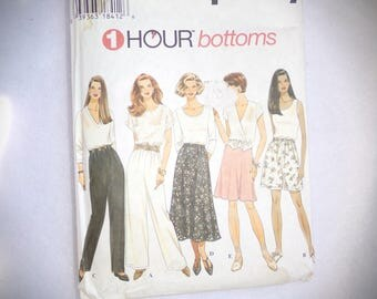 Vintage Simplicity Patterns .  Womans Pants Patterns . Simplicity Pattern Skirt . Old  Vintage Patterns .womans Bottom Patterns .