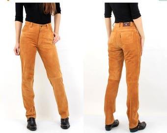 SALE Vintage Jantzen Suede Pants Size 42