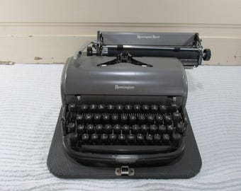 Remington Rand Manual Portable Typewriter