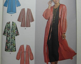 Simplicity Sewing Pattern 8553-Misses' Kimonos-Size XXS-XXL-New and Uncut