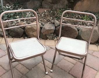 Vintage metal patio furniture | Etsy