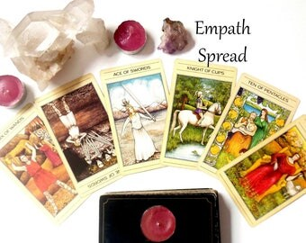 Empath Spread Tarot Card Reading, Oracle Cards Same Day Reading, Advise Cards Tarot Reading, Psychic Reading, Clairvoyant Life Coaching