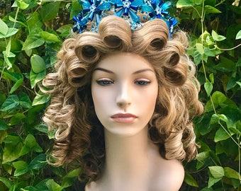 Glinda Wicked Wizard Oz Blonde Broadway Professional Wig