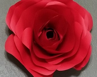 Rose Paper flowers