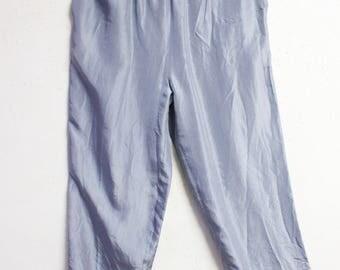 90s silk pants