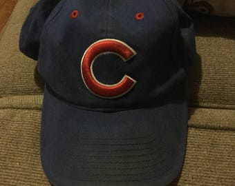 Vintage Chicago Cubs Baseball Cap