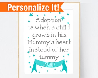Adoption day gift, new parent gift, new mom gift, gotcha day, personalized adoption, china adoption gift, adoption parent gift, baby adopt