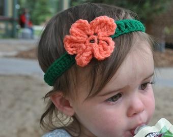 Mermaid-Inspired Crochet Headband: Child