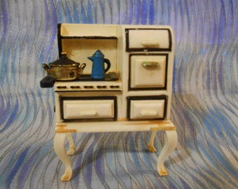 1994 Acme Magnet-Stove With Coffe Pot-Vintage
