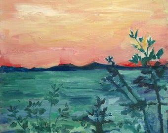 Mangrove Forest — Original Oil Painting