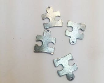 Puzzle piece charms 20 for 2.99