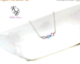 Mom Birthstone Necklace Birthstone Jewelry Birthstone Gifts Mothers Necklace Sterling Silver Necklace Grandma Necklace Gift for Her