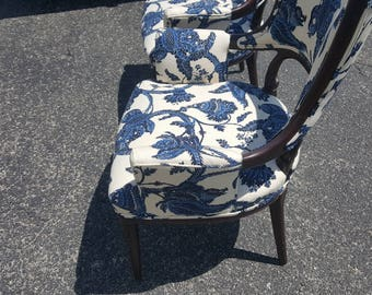 Beautiful Pair Vintage Parlor Chairs