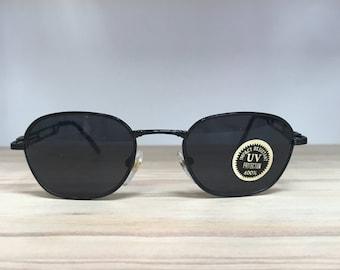 Small black or silver vintage sunglasses