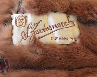 Vintage Mink stole from 5 pelts...FREE shipping !!!