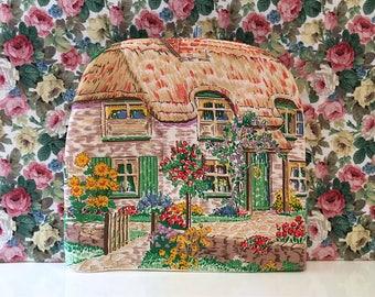 Vintage Cottage Tea Cosy Kitsch Pretty Granny Chic