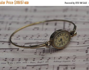 15% off Vintage USSR Ladies Bracelet Watch CHAIKA 17 jewels 1970's - gold plated / Dress watch, womens watch, bracelet watch, vintage womens