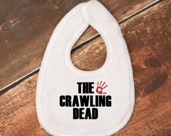 "Baby Bib- ""The Crawling Dead"" - The Walking Dead"