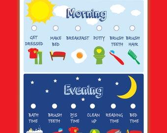 Kids Chore Chart Printable   Positive Behavior Chart   Star Chart   Kids  Planner   Kids