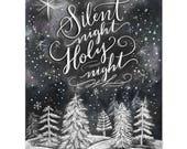 Silent Night, Holy Night - Print