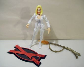 Vintage Marvel X-Men Generation X White Queen Action Figure, 1996 Toy Biz, New Complete