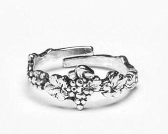 """Spoon Ring: """"Merlot"""" by Silver Spoon Jewelry"""