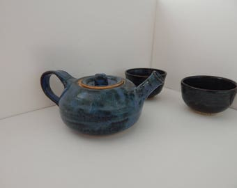 Handmade Teapot and cup set
