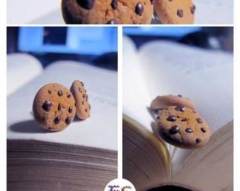 Chip cookies Stud Earrings