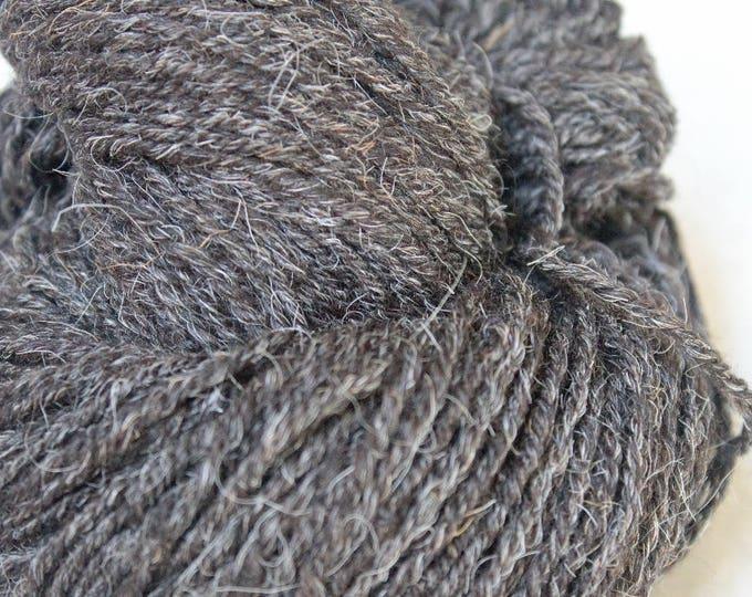 Black Churro Yarn