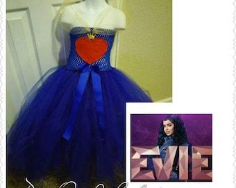 Evie Desendants tutu costume/birthday dress