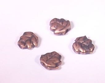 8 pearls sheet metal bronze 7mm