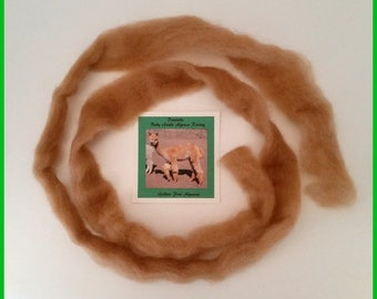 Baby Alpaca Roving Light Fawn 4.75 oz. from Danielle