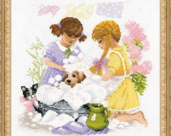 Housewifes - Cross Stitch Kit from RIOLIS Ref. no.:1646