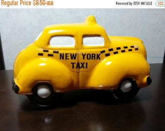New York Taxi Coin Bank