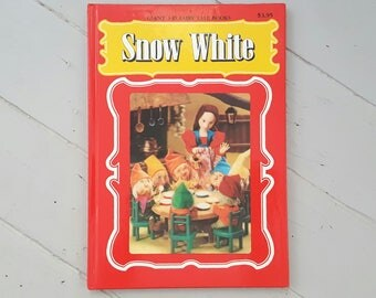 3D Snow White Fairy Tale Book