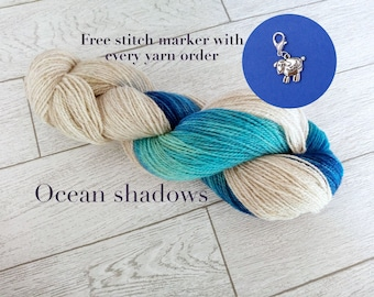 Last ones available at a discount! The last skeins available... Sunshine, Pewter, Chartreuse, Ocean shadows