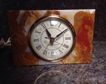 Vintage General Electric Ge Alarm Clock Telechron Tabletop Mid