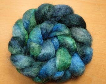 Dragonfly - BFL, Kid Mohair roving