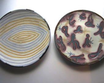 Anne Smith 1990s Ceramic Plates