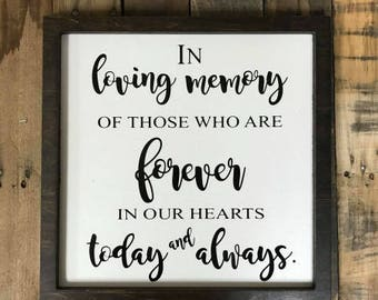 Today and Always Vinyl Sign,Painted Home Decor
