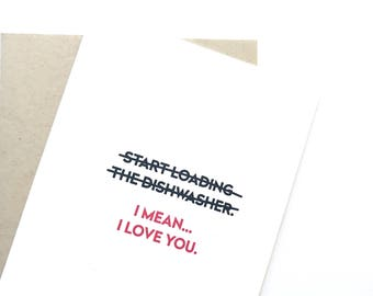 Funny Valentine Card. Valentines Day Card. Funny Love card.
