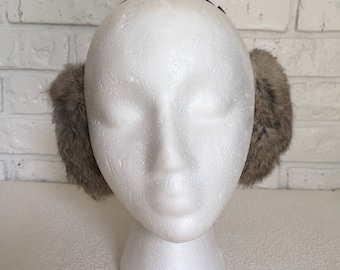 Vintage Rabbit Fur Ear Muffs