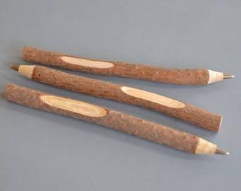 Blank Twig Pen - Rustic Guest Book Pen - Woodland Wedding - Alternative Pen - Wooden Pen - Vintage Wedding - Wedding Favours - Engraved Pen