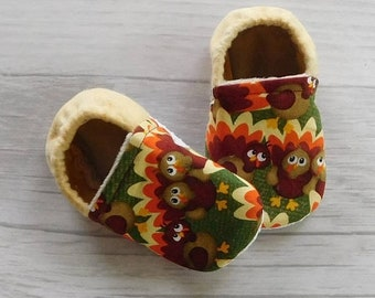 70% off Turkey Trot Baby & Toddler Moccasin Crib Shoes • Ready to Ship 12-18m